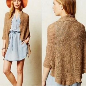 Anthropologie Sweaters - Anthropologie Angel of the North Nysa Shawl XS/S